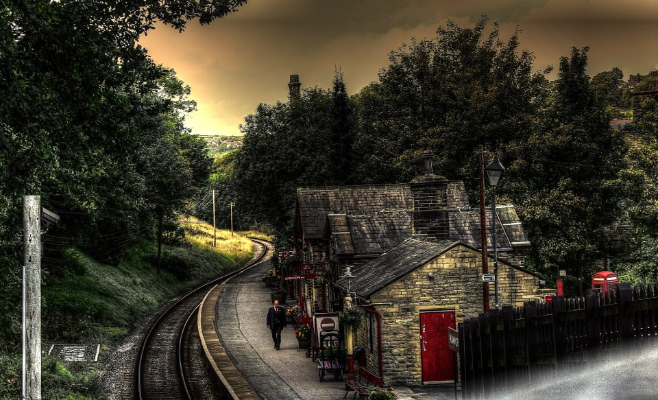 Photograph I've got a feeling some one is watching me.  At Haworth. by Garry Atkinson on 500px