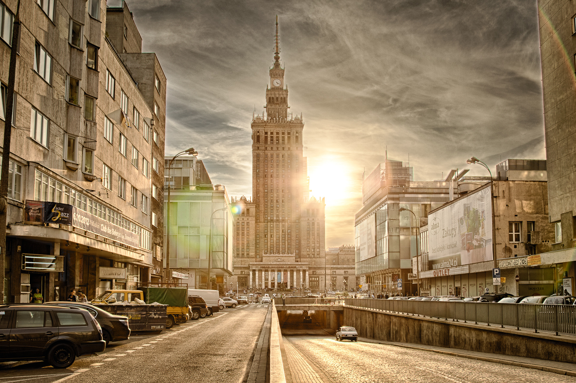 Photograph Warsaw late afternoon by Sebastian Rudnicki on 500px