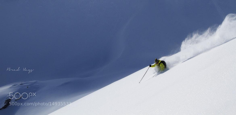 Photograph Bavarian Powder Skiing by Brad Hays on 500px
