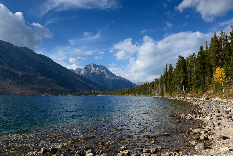 Photograph Mt Moran From Jenny Lake by Derek Gaston on 500px