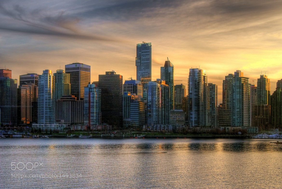 Photograph Van City Sunset by Brandon Godfrey on 500px