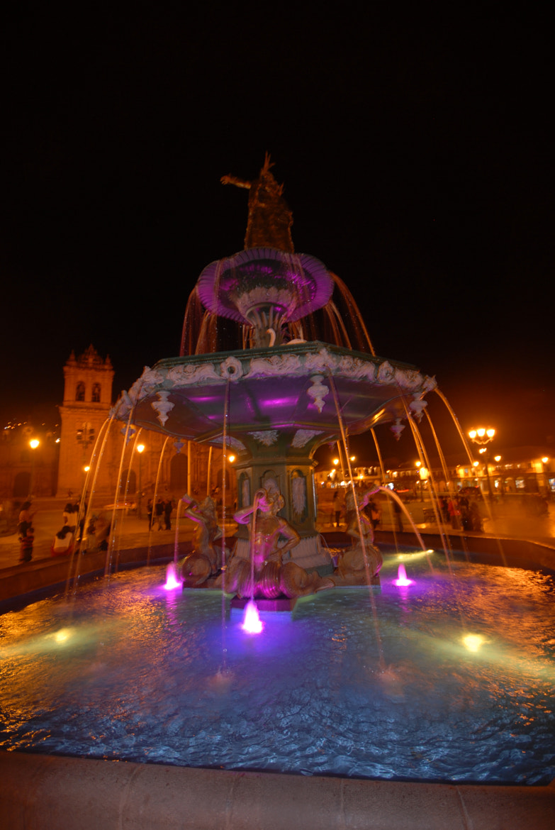 Photograph Fountain at night2 Cusco Peru by Miluska Pareja on 500px