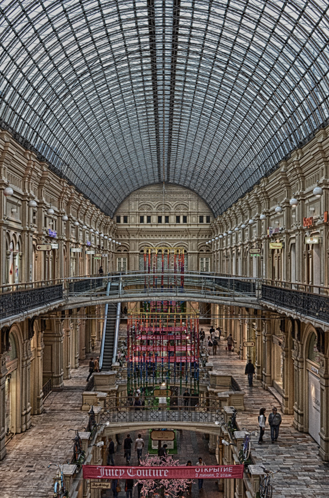 Photograph Moscow Gum by Norbert Weiss on 500px