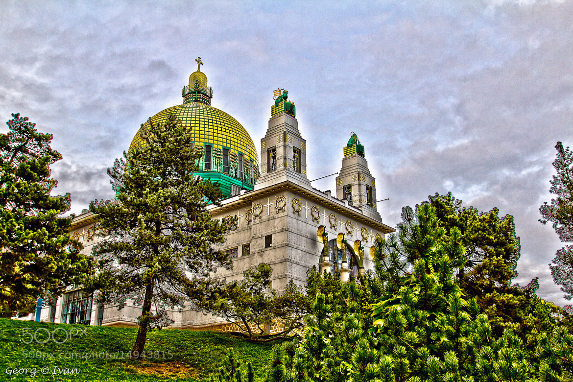 Photograph Otto Wagner Kirche / Otto Wagner Church in HDR by Georg Ivan on 500px