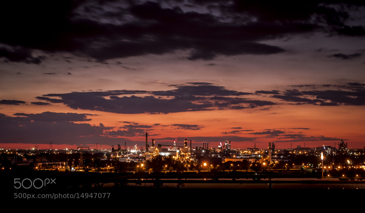 Photograph Industrial Sunset by Mike Swiech on 500px