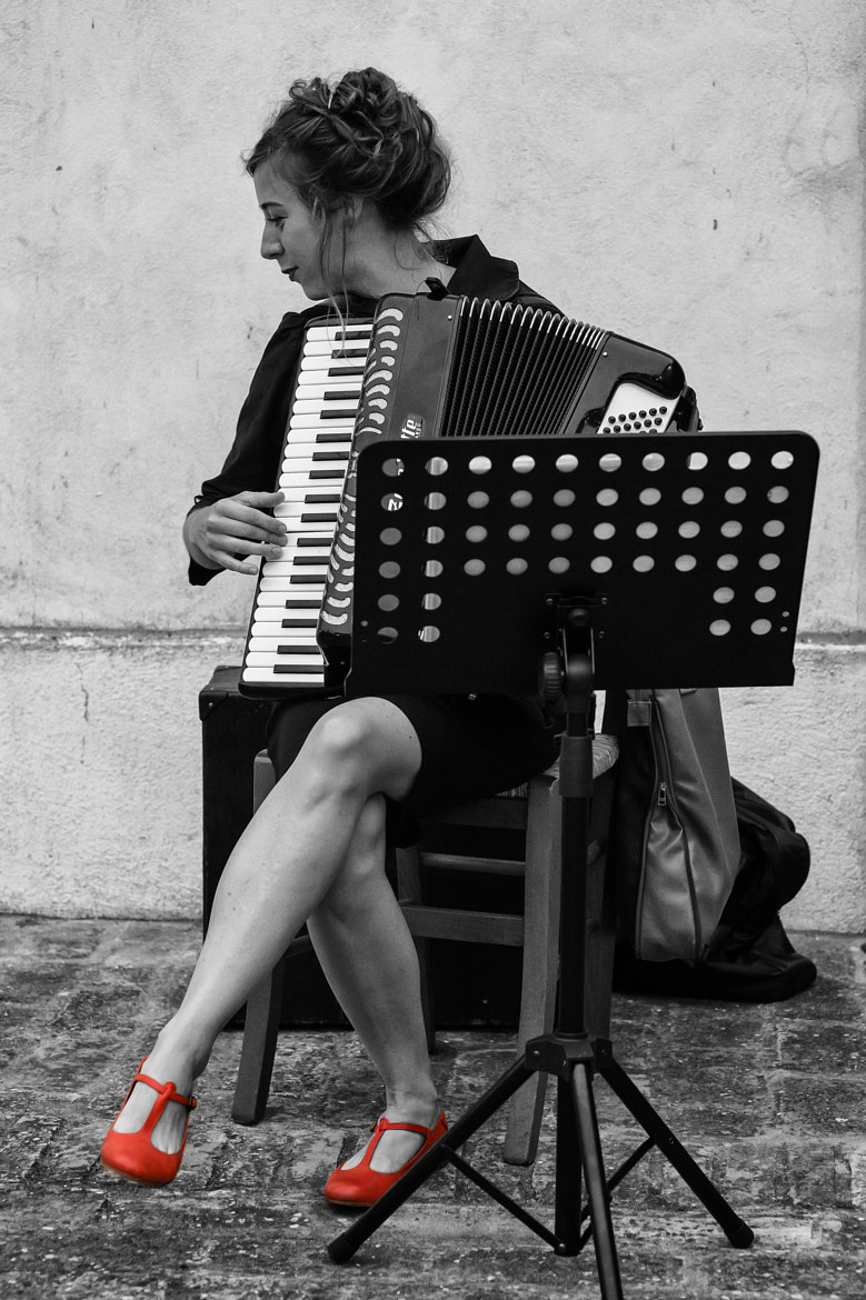 Photograph The musician by Gastone Dissette on 500px