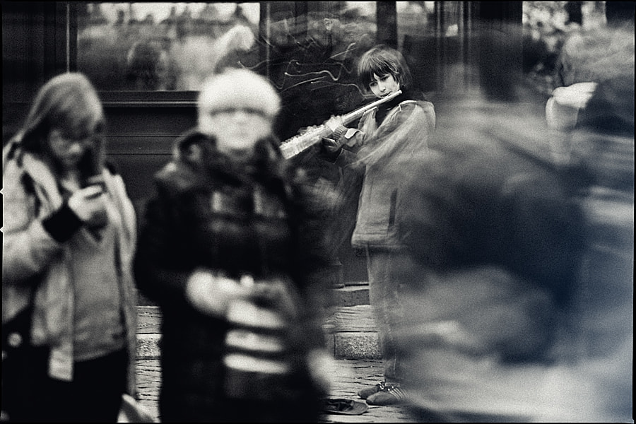 Photograph Street Musician by Tadao Cern on 500px