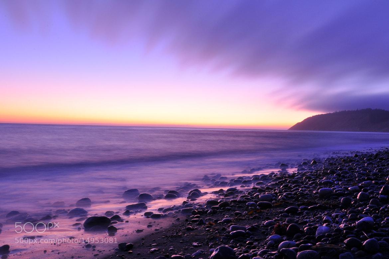 Photograph purple sunset by yulia mitchell on 500px