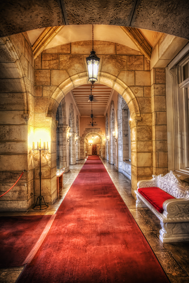 Photograph Flagler Museum Hallway by Marc Perrella on 500px