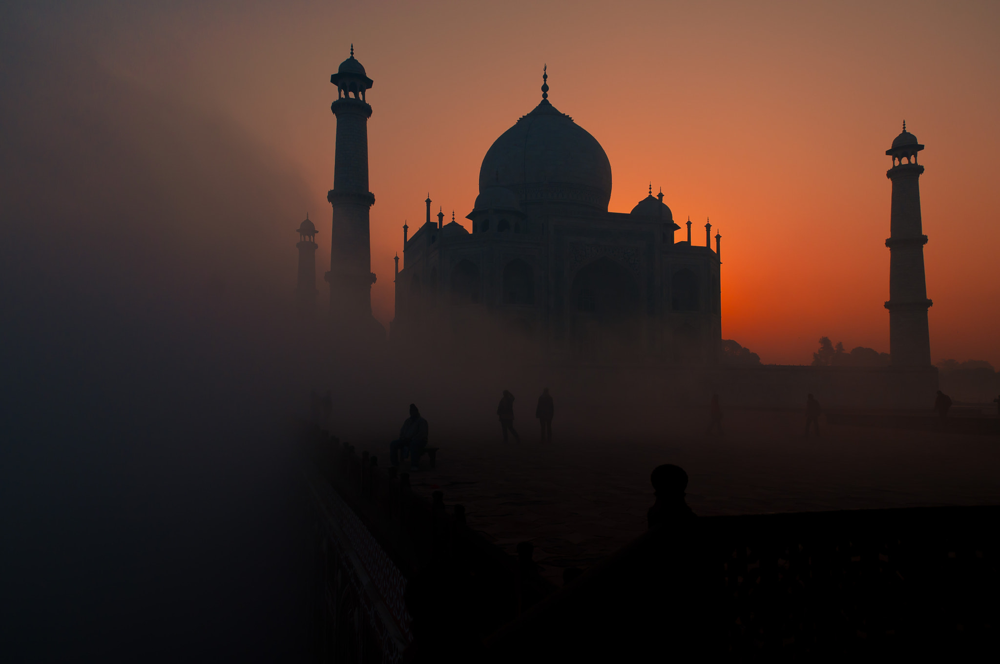 Photograph Taj Mahal At Sunrise by Hemant Shukla on 500px