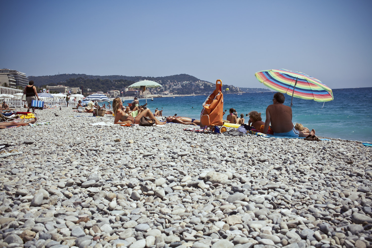 Photograph Beach in Nice by Wictoria Nordgaard on 500px