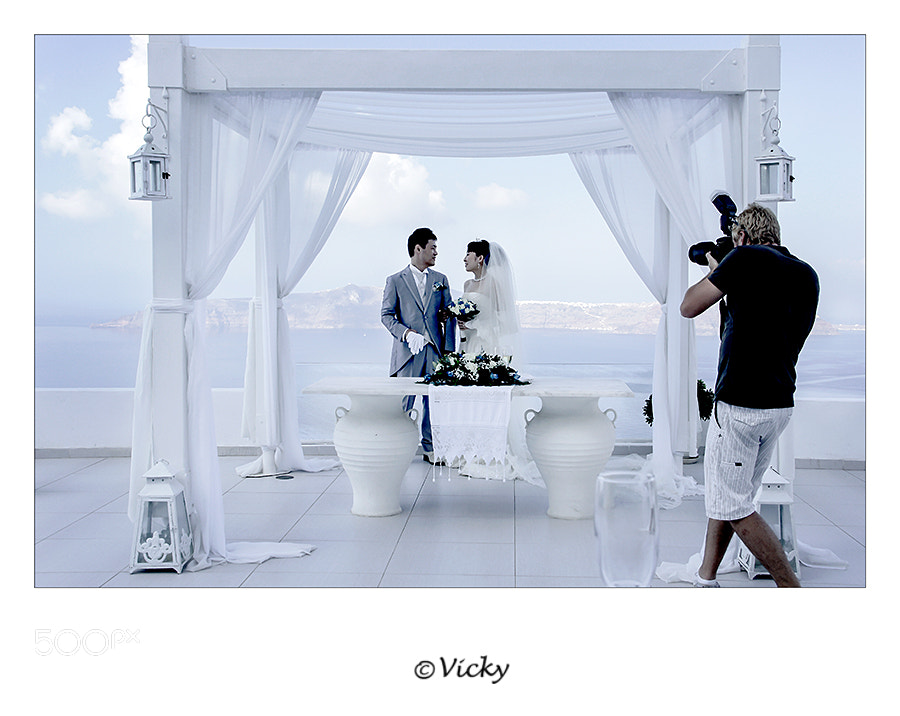 Photograph wedding, Santorini by Vicky Dens on 500px