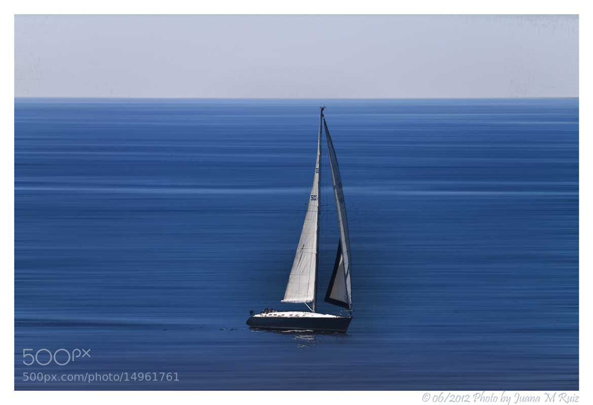 Photograph Alone with the sea by Juana Maria Ruiz on 500px