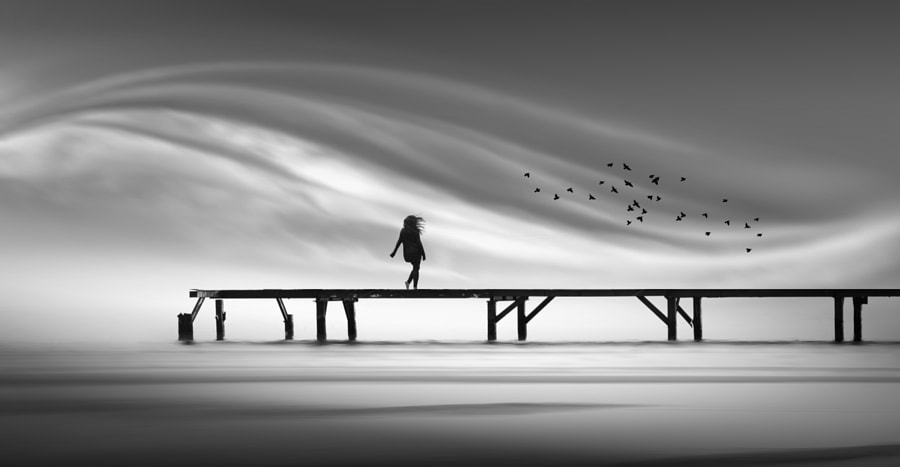 the girl  by nikos Bantouvakis on 500px.com