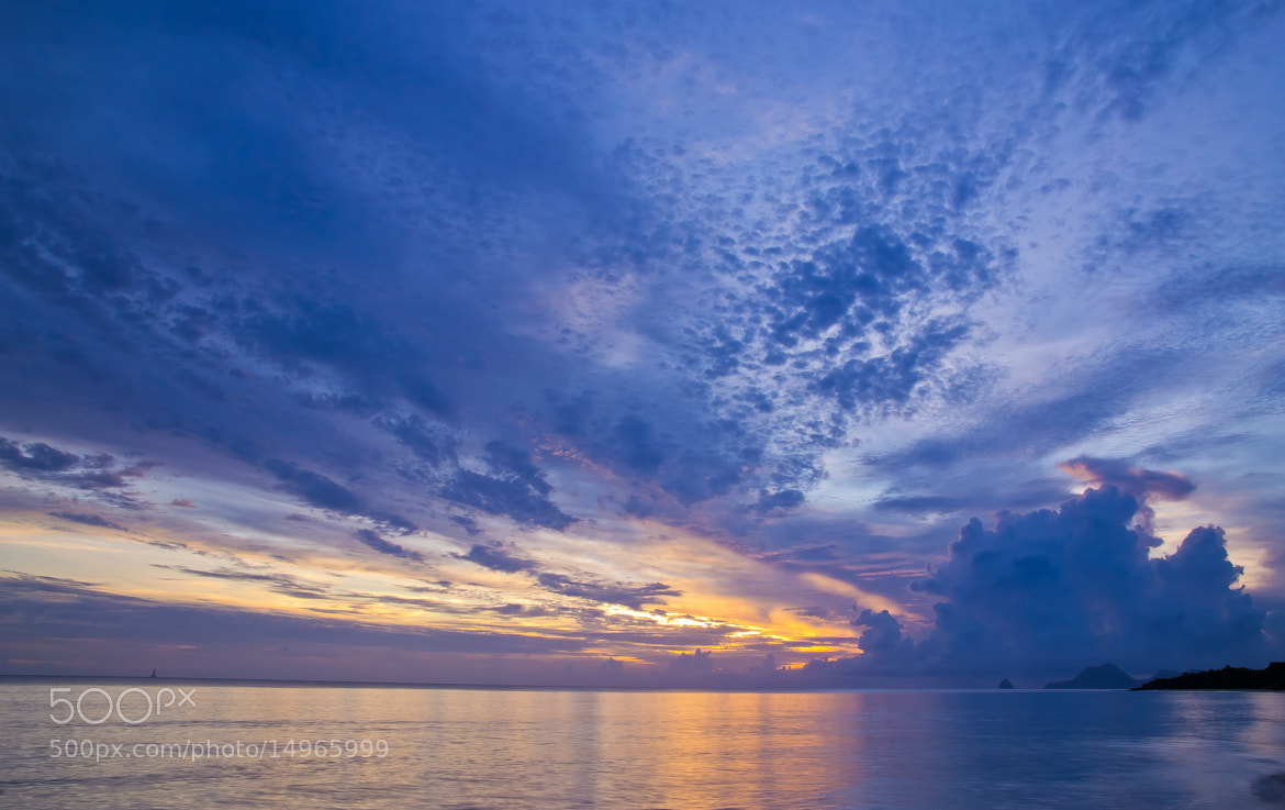 Photograph Coucher sur les Salines by Charles DELEPINE on 500px