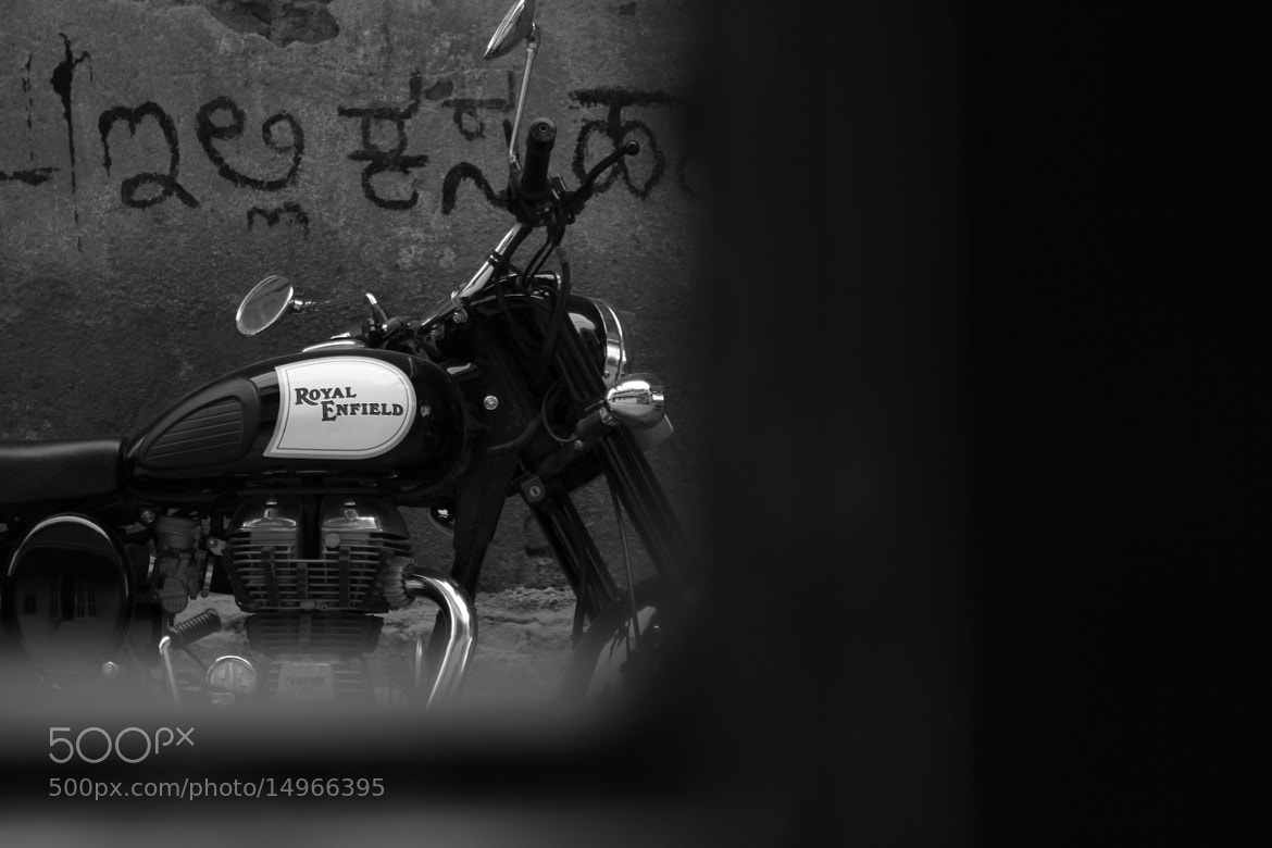 Photograph A bike, Just outside My window by Arun Krishnan on 500px