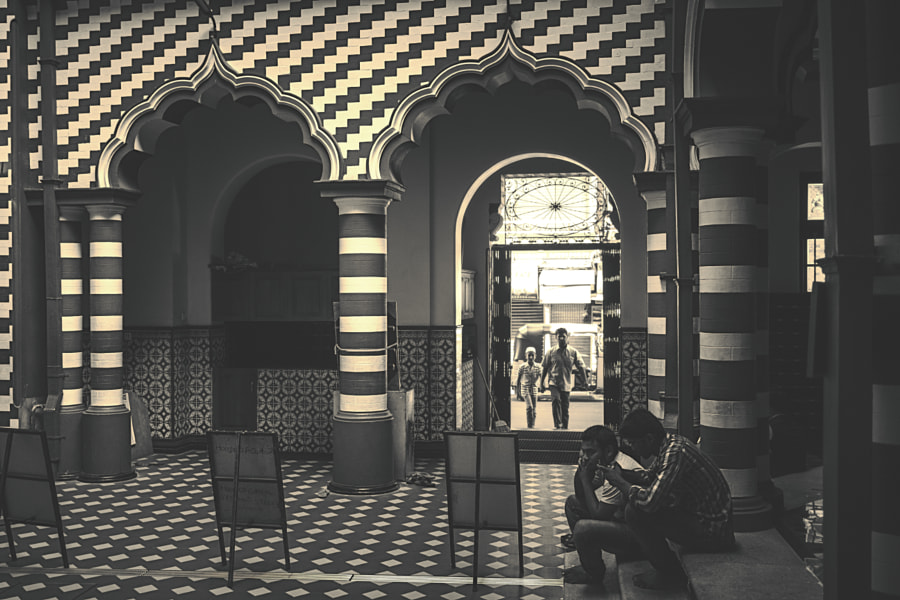 Interior of the Red Mosque, Colombo, Sri Lanka #3 by Son of the Morning Light on 500px.com