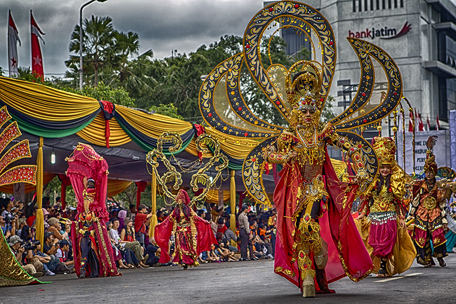 Photograph Jember Fashion Carnival by Sanya Ad on 500px