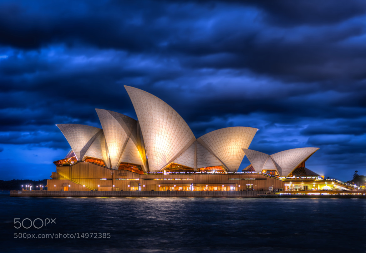 Photograph Opera House at Dusk by Eaton Zhou on 500px