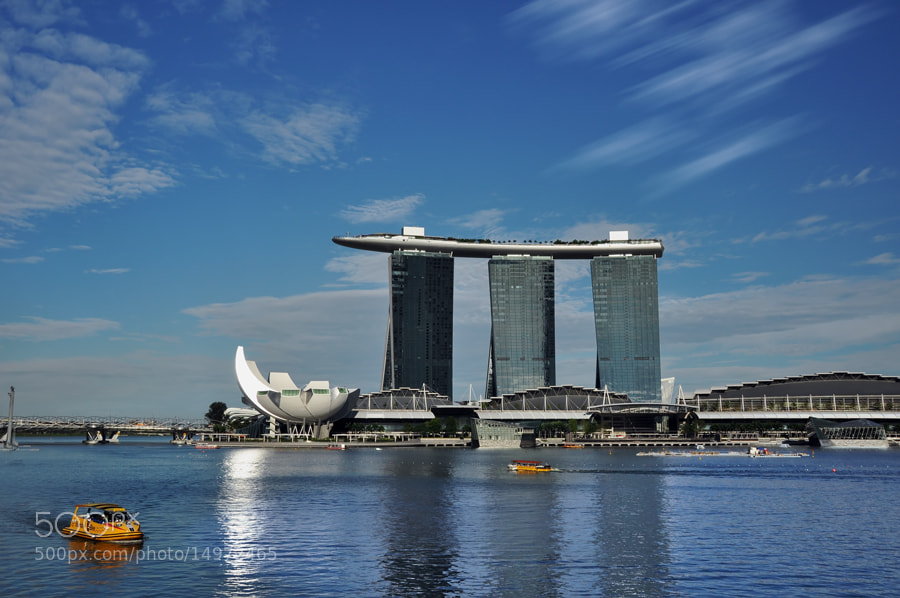 Photograph Marina Bay Sand by Khoo Boo Chuan on 500px