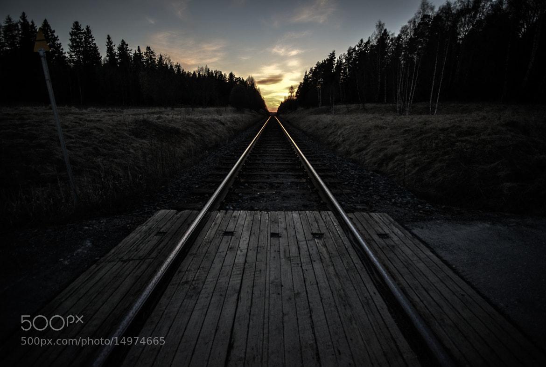 Photograph Railway by Riku Toivonen on 500px