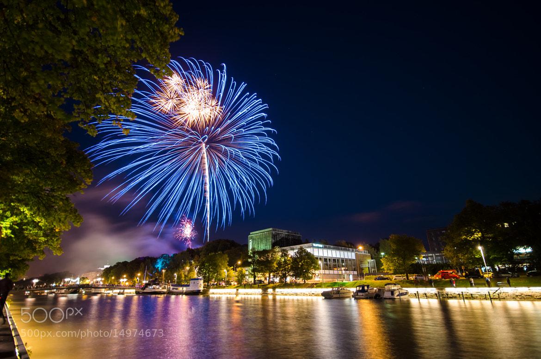 Photograph Turku @ Night by Riku Toivonen on 500px