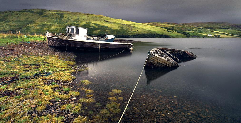 Photograph Scotland - Abandoned Ships II by Kilian Schönberger on 500px