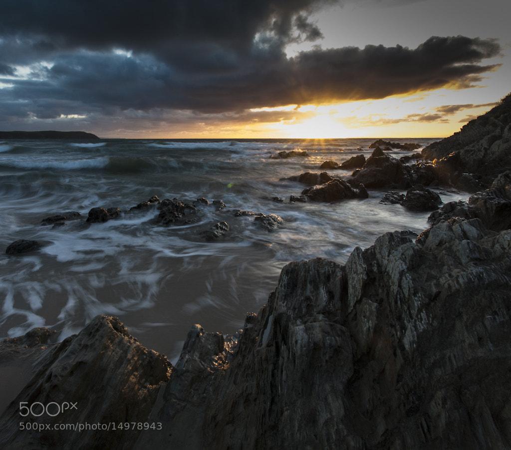 Photograph Atlantic Firesky by Mitt Nathwani on 500px