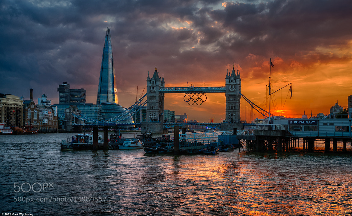 Photograph Thames evening by Mark Wycherley on 500px