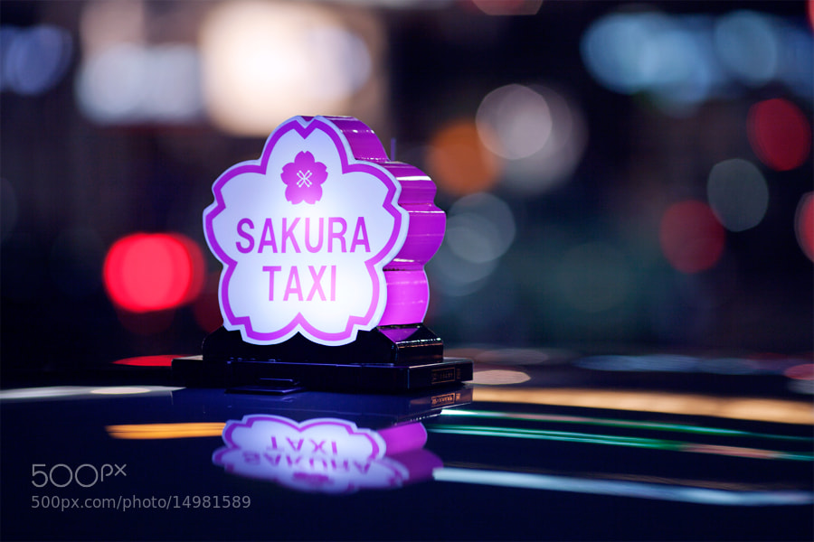 Photograph Sakura Taxi by Loic Labranche on 500px