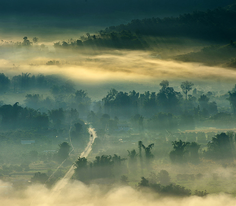 Photograph Road to heaven by Kittipop Laohakul on 500px