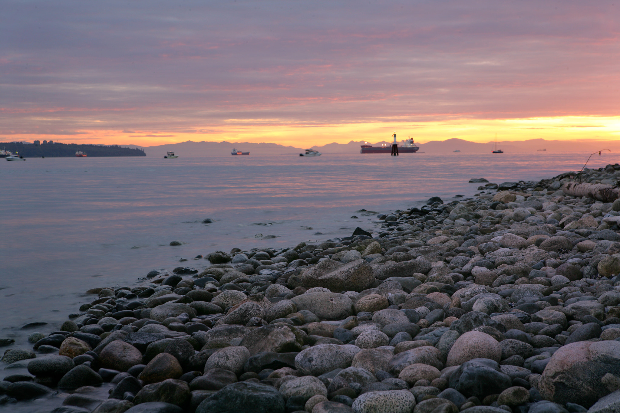 Photograph Sunset Vancouver by Jonathan Lo on 500px