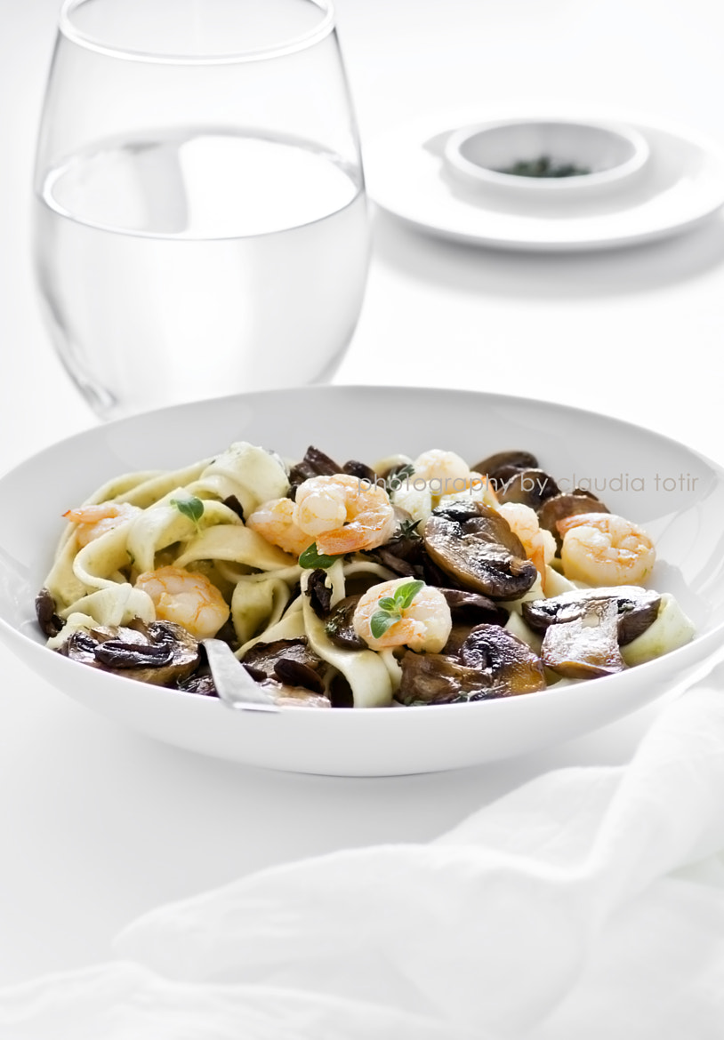 Photograph Pasta with shrimp and mushroom by Claudia Totir on 500px