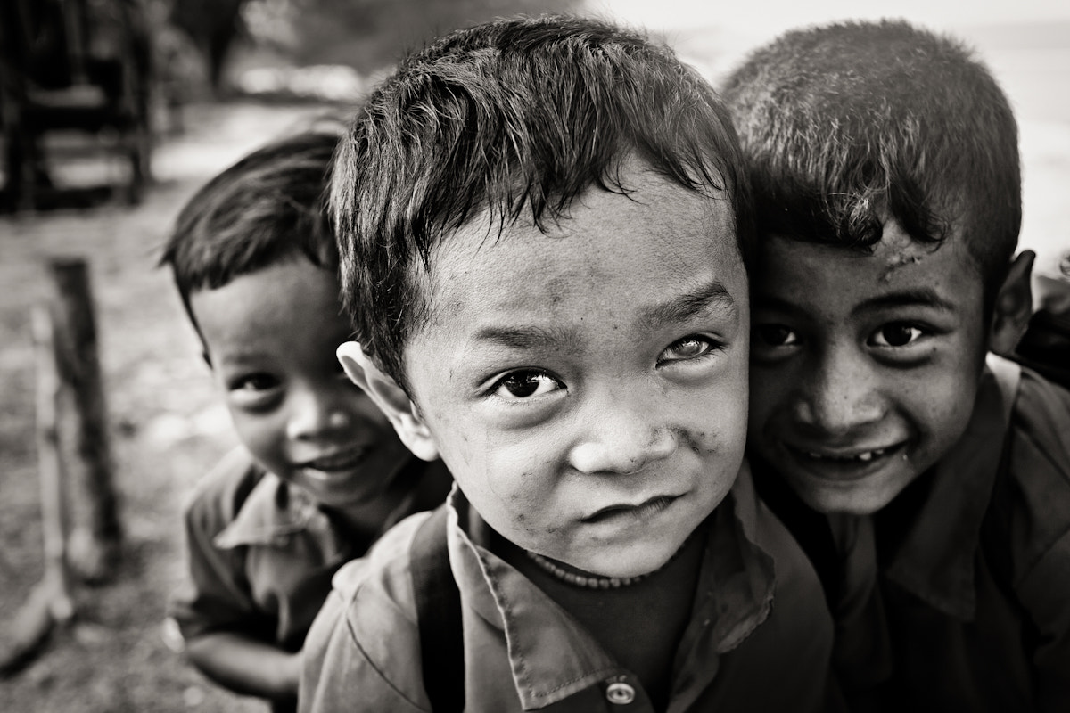 Photograph Kids of Ko Rung by Ulysse Lemerise on 500px