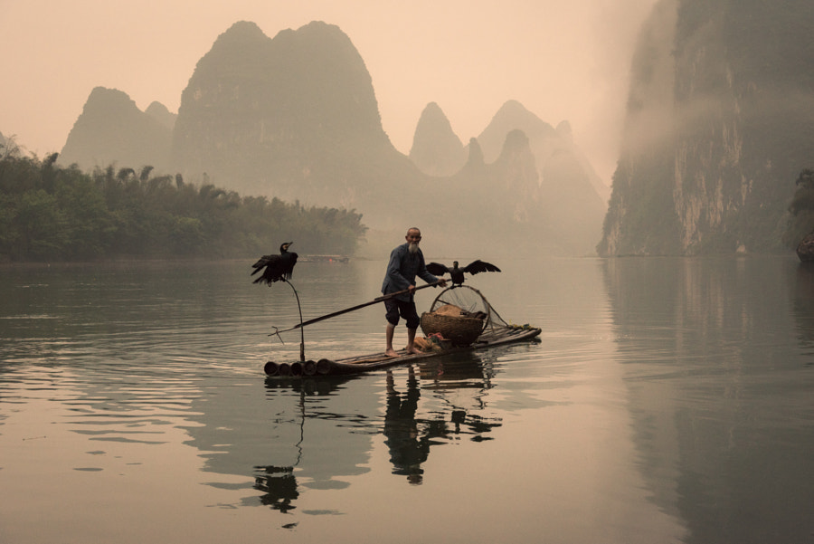 ???? (By the Li River, IV) by Shan Huang on 500px.com