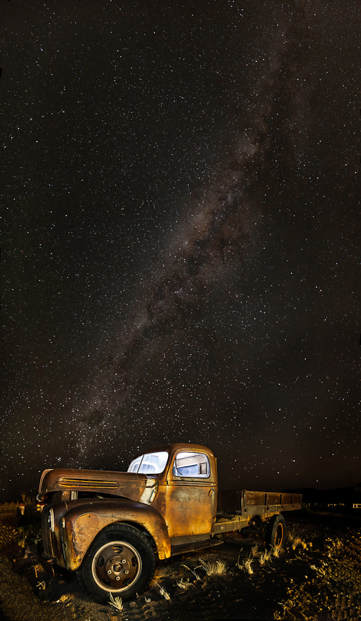 Photograph Old car at night by Jorge Mambrilla on 500px