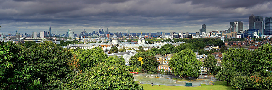 View from One Tree Hill, Greenwich