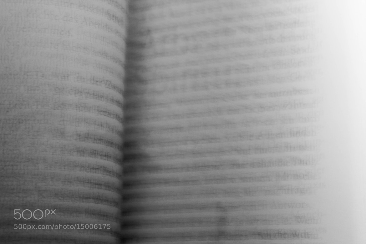 Photograph turning the page by Franc Thraszini on 500px