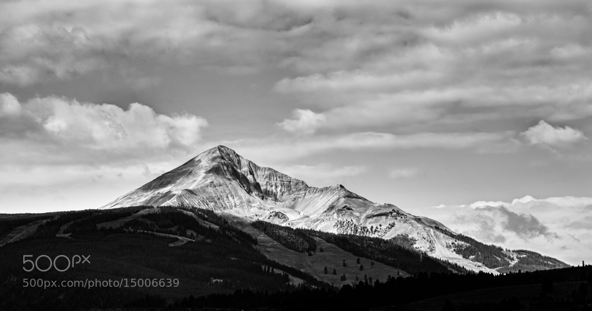 Photograph Lone Mountain,MT. by Kevin Porto on 500px