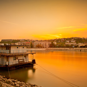 Sunset on the Danube by Ottó Hargita (OttHargita)) on 500px.com