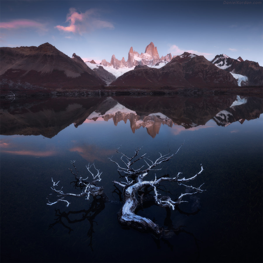 Fitzroy reflections by Daniel Kordan on 500px.com