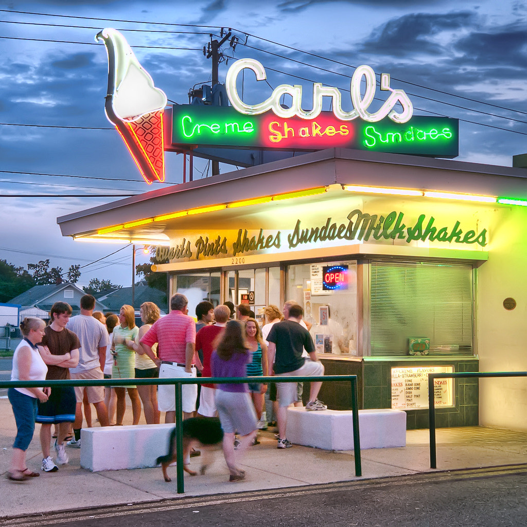 Photograph Carls Ice Cream by Bill Dickinson on 500px
