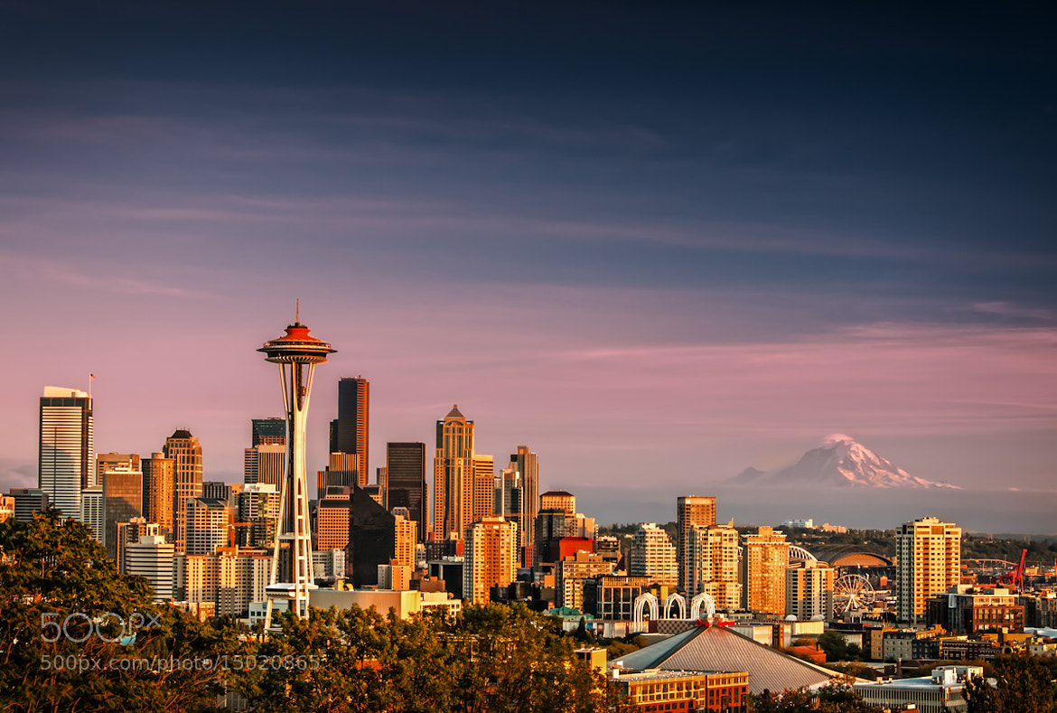Photograph Seattle Skyline by Brian Bonham on 500px