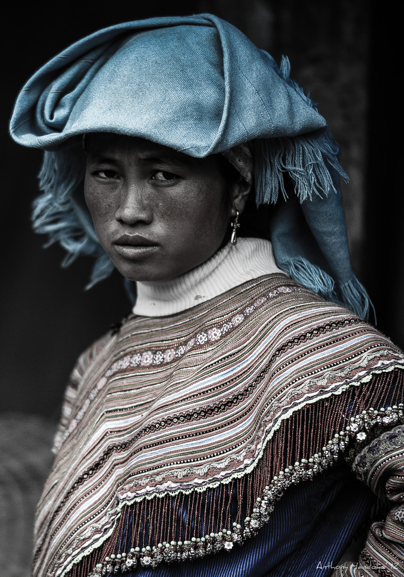 Photograph Blue H'mong, Vietnam, 2012 by Anthony Handoko on 500px