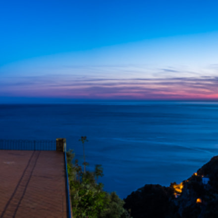Sunset in Conca dei Marini - Amalfi, Italy - Landscape photography