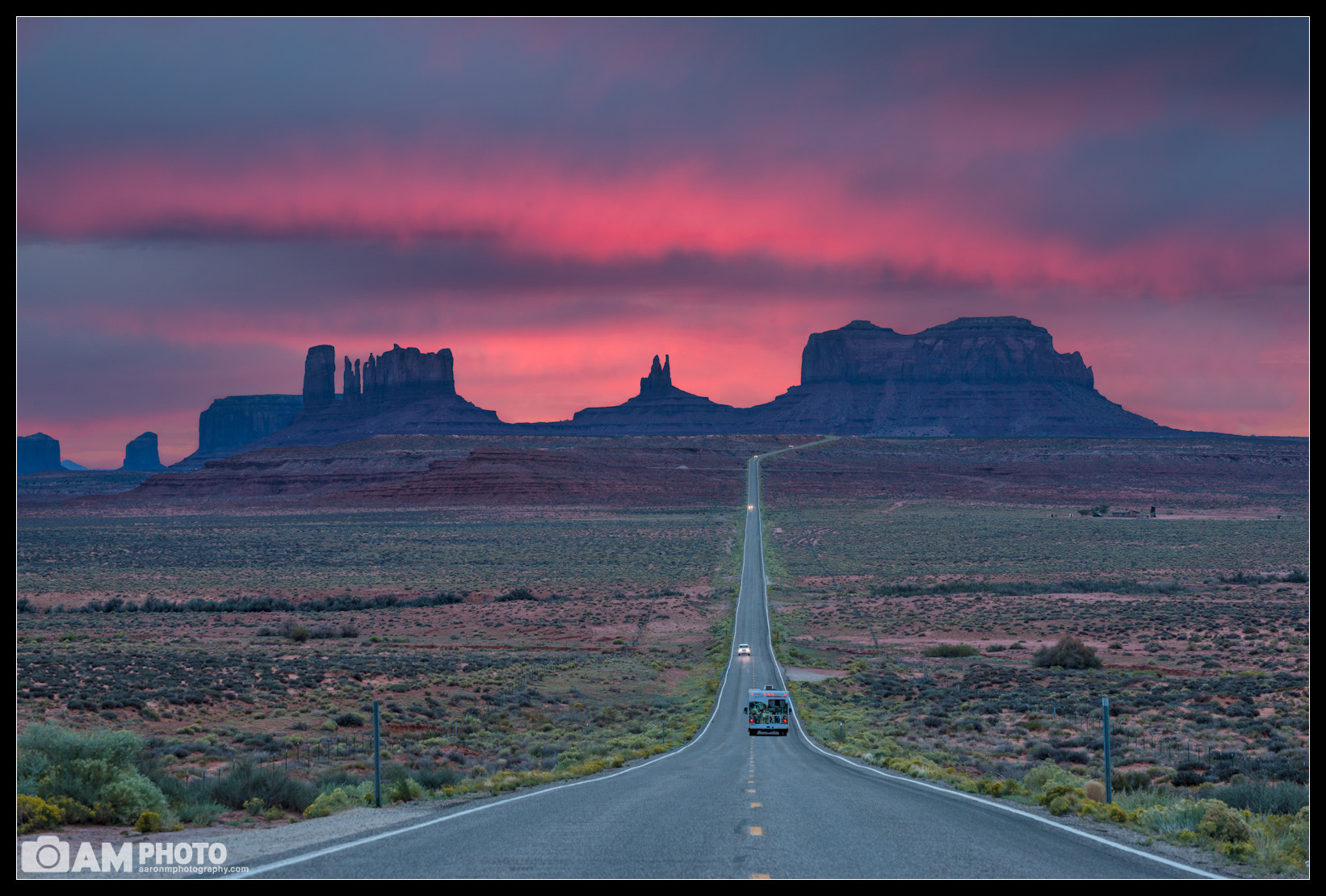 Photograph Pink Mile by Aaron M on 500px