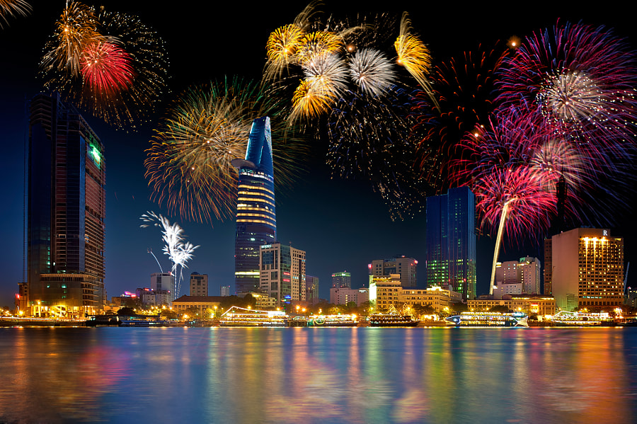 Fireworks by Alanguyen Đức on 500px.com