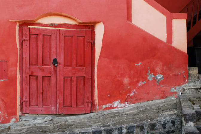A Door in Sighisoara by Adriana Manni on 500px