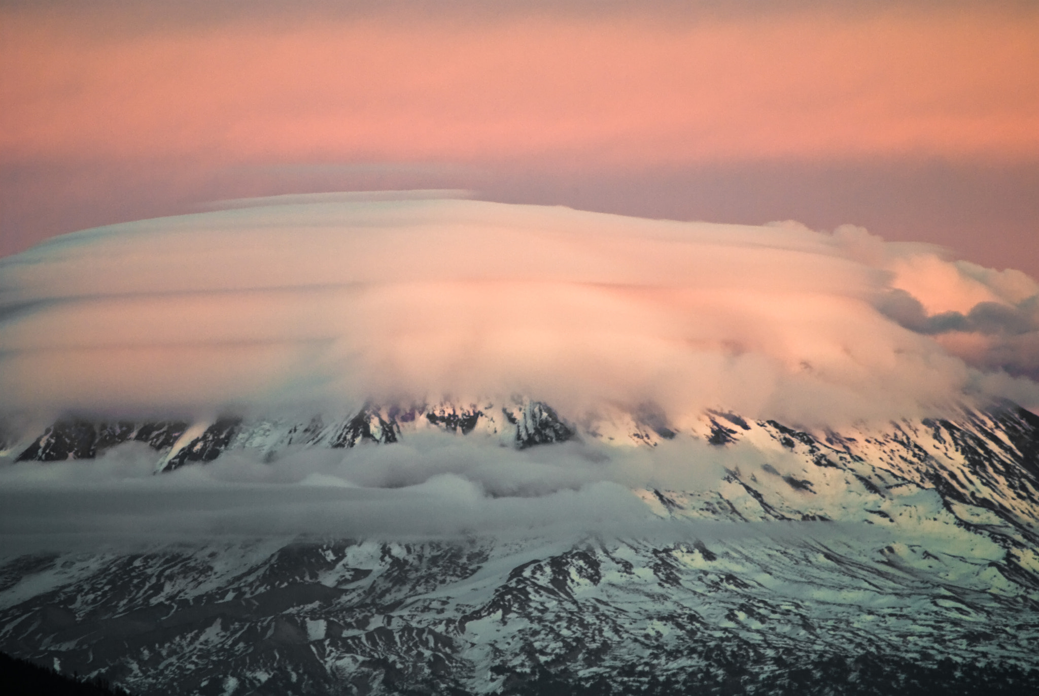 Photograph Mt. Adams from Mt. St. Helens by Marshall Alsup on 500px