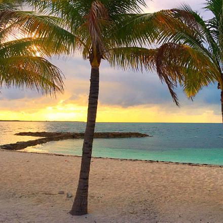 Sunrise over Montagu Bay, Nassau, Bahamas